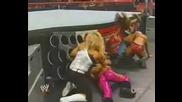 Natalya & Victoria Vs Mickie & Melina