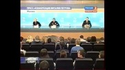 Vitaly Petrovs official press conference Moscow 22:12:2010