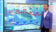 Прогноза за времето (02.08.2020 - централна емисия)