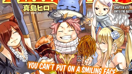 { Bg Sub } Fairy Tail Manga 471 - Until the battle ends...