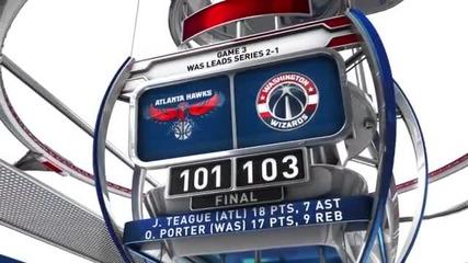 ВИДЕО от плейофните мачове в НБА на 10 май сутринта