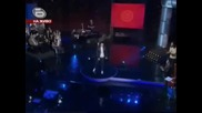 Music idol 3 - Малък концерт - Дарко Илиевски (here i go again)