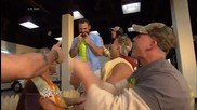 Adam Rose brings the party to Santino Marella's barbecue: Raw, June 30, 2014