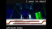 1 Year in Vbox7 - Jeff Hardy - Behind Blue Eyes