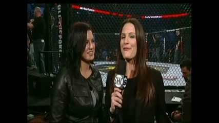 Gina Carano Back to Return to Mma Strikeforce in 2011 Announ