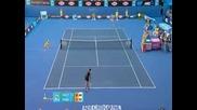Maria Sharapova vs Virginie Razzano. Australian Open 2011