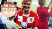 Kolinda: from President of Croatia to President of the World Cup