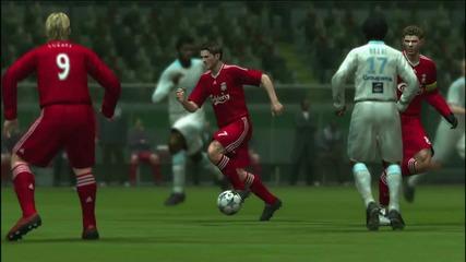 Pro Evolution Soccer 2009 Trailer (hd)