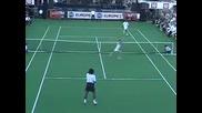 прекъсване на тенис игра.. лудак (remi Gaillard)