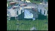 """Сцена рухна в Торонто преди концерт на """"Рейдиохед"""", има един загинал"""