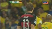 08.07.14 Бразилия - Германия 1:7 *световно първенство Бразилия 2014 * Респект за Бразилия