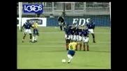 Феноменалния гол на Роберто Карлош ...