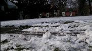 Чудовището Axial Scx10 чисти сняг