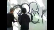 Graffiti by P0me & Peper - Crs:19 - : Street Bombing