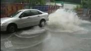 Смешни провали и инциденти с автомобили