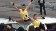 Антигравитация - грандиозни каскади с три световни рекорда в Мурманск 2014