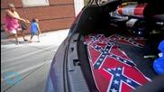 Confederate Flags Placed Near MLK's Church in Atlanta