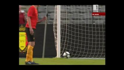Белгия - България 0:1 Ивелин Попов 19.05.2010