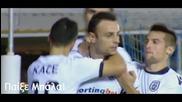 Първи гол и асистенция за Бербатов в Гърция