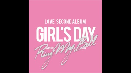Girl's Day - With Me [love Second Full Album]