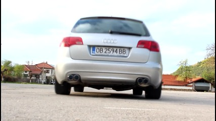 Audi A6 3.0 Tdi - Milltek exhaust Video 2