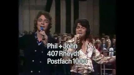 Phil & John - Wo warst Du heut Nacht mein schones Kind 1975