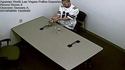 USA: Police CCTV captures suspect breaking handcuffs, escaping interrogation room