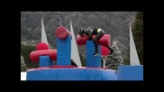 The Best Of Winter Wipeout Season 4 Episode 1 - Over The Big Balls To Nana s House We Go