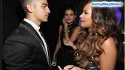 Demi Lovato . Selena Gomez . Joe Jonas & Justin Bieber At 2011 Mtv Vma