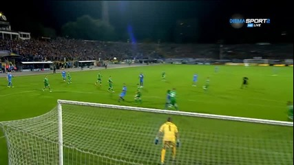 Живко Миланов и голът му срещу Лудогорец