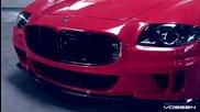 Страхотно Мазерати Quattroporte с комплект джанти Vossen Wheels