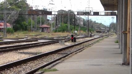 46 211 начело на влака за Варна и Бургас