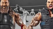 Bray Wyatt vs. Roman Reigns - Action Figure Showdown