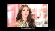 Anahi в реклами за шампоан и дезодорант Ossart