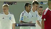 Динамо откри срещу ЦСКА в първите минути на втората част