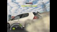 Nfs Pro Street - Golf R32 - Drag - [my Gameplay]