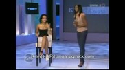 Rihanna on tyra banks show **