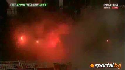 Черноморец Бургас - Локомотив София 2:1