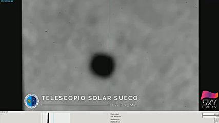 Space: Mercury makes rare transit across the Sun