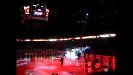 Calgary Flames!opening Season 06 - 07