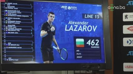 Кузманов с италианец, Лазаров и Андреев ще играят срещу сърби в първия кръг на Sofia Open