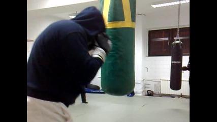 Тренировка по бокс