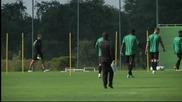 Челси с последна тренировка у дома преди мача със Спортинг