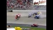 Joey Logano - Dover Crash 2009
