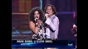 David Bisbal & Elena Gadel Mienteme Live