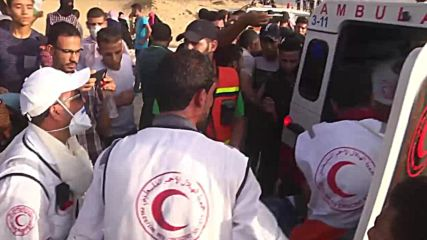 State of Palestine: At least 20 injured at protest against Israeli naval blockade - medics
