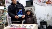 Пеещи кукли на театър Хенд - Пловдив в Стария град