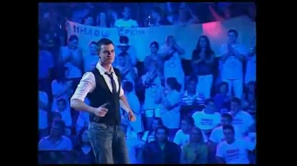 Miloš Brkić - Emisija 3 (Zvezde Granda 2011_2012 - Emisija 3 - 08.10.2011)