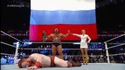 Rusev vs. Sheamus/ Русев ср Шеймъс - Русев Е Шампиооооооооооон!!!!!!!!!!!