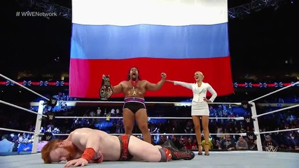 Rusev vs. Sheamus/ Русев ср Шеймъс - Русев Е Шампиооооооооооон!!!!!!!!!!!